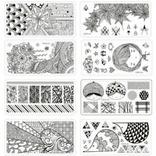 Nature French Metal Nail Art Supplies
