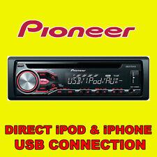PIONEER automóvil CD USB Radio estéreo Reproductor de unidad de cabeza de sintonizador iPOD iPHONE ANDROID listo