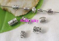 350 pcs Mixed style Tibetan silver spacer beads M3646