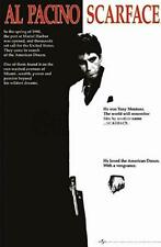 Scarface Al Pacino Gangster 80s Movie Poster Iron On T-Shirt Transfer A5