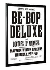 Be Bop Deluxe Bill Nelson Concert Poster 1976