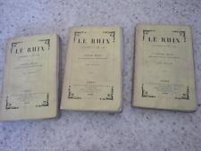 1845.Le Rhin lettres à un ami.3/3.Victor Hugo
