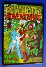 Psychotic Aventures 3 underground horror comic  1974, 1st. VFN