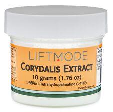 L-Tetrahydropalmatine (L-THP) - 10 Grams (0.35 Oz) - 98% Pure | For Sleep