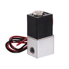 """Magnetventil DC12V 1/8"""" Ventil Electric Solenoid Valve für Wasser Luft Gas NC"""