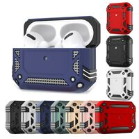 For Apple AirPods Pro&1&2 Charging Case Rugged Armor Shockproof Protective Cover