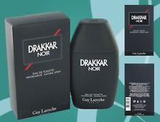 Drakkar Noir Cologne By Guy Laroche Eau De Toilette Natural Spray, 6.7 oz New