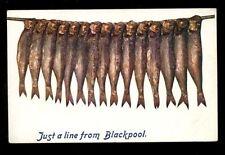 Blackpool Pre 1914 Printed Collectable English Postcards