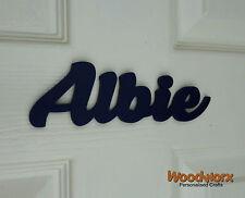 Personalised Wooden Name Plaque / Door Sign / Bedroom Name Santeli #46