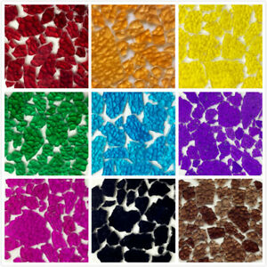 0.44 lb Transparent Multi-Color Broken Glass Mosaic Tiles For Crafts Pieces DIY