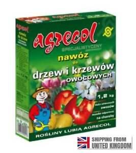 FERTILIZER FOR FRUIT TREES AND BUSHES, 1.2 kg,  AGRECOL