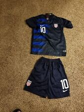 Christian Pulisic Team Usa 2018 Away Jersey and Short set Size Adult 2X-large
