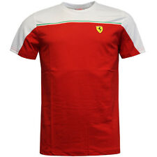 Puma Sf Escuderia Ferrari Hombre Manga Corta Camiseta de Algodón 761631DD