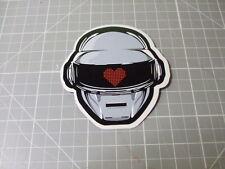 DAFT PUNK HELMET BAND ROCK Sticker/ Decal Bumper Stickers Actual Pattern NEW