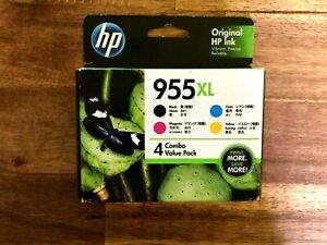 4 Pack HP 955XL Genuine High Yield Inkjet Combo [1BK,1C,1M,1Y]