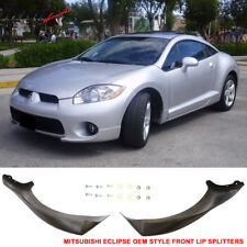 Fits 06-08 Mitsubishi Eclipse OE Factory Style Front Bumper Lip Splitter