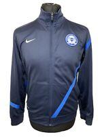Nike Dri-Fit Peterborough United Football Club Blue Track Zip Top Boys 12-13 L