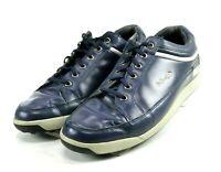FootJoy $110 Men's Contour Casual Golf Shoes Size 11 Navy Blue