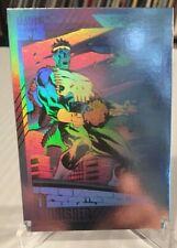 1991 Marvel Universe II Punisher #H-3 Hologram Marvel Insert Card NM/M Impel