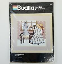 Bucilla Counted Cross Stitch Victorian Memory Linda Meyers 40291 New Unopened