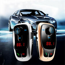 Bluetooth Wireless Car MP3 Player Handsfree FM Transmitter Phone Speaker USB Kit