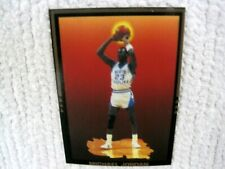 RARE Michael Jordan Collegiate Record Card North Carolina Tarheels