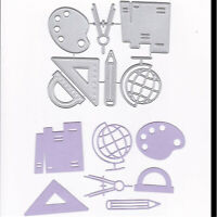 Stanzschablone Zirkel Globus Hochzeit Oster Geburtstag Weihnachten Karte Album