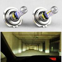 2 x H7 55W 12V Xenon Halogen Front Headlight Light Bulbs Lamp Super Bright LEDs