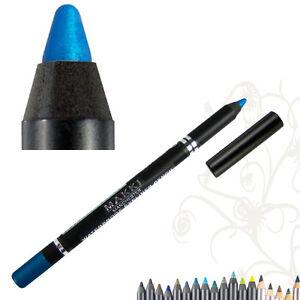 MAKKI METALLIC ELECTRIC BLUE GLIDE WATERPROOF EYELINER SUPER LONGSTAY EYE LINER