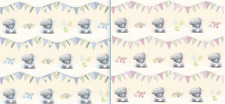 ME TO YOU BABY TATTY TEDDY WRAPPING PAPER 2 SHEETS GIFT WRAP BOY GIRL SHOWER NEW