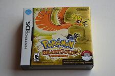 Brand New Factory Sealed Pokemon HeartGold Version Nintendo DS w/ Pokewalker