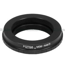 Leica M39 lens to Micro 4/3 M4/3 Adapter for E-P1 EP2 EPL1 GF1 GF2 G1 G2 G3 GH1