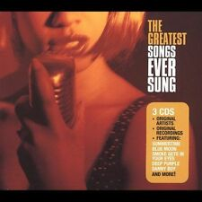 Greatest Songs Ever Sung - VARIOUS ARTISTS  Audio CD Buy 3 Get 1 Free