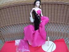 """Bob Mackie Marissa Couture Porcelain Doll Franklin Mint 18""""T  MIB"""