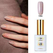 RS 186 Gel Nail Polish UV LED Soak-off Shiny Opal Gray Summer Nail Salon