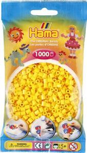 Hama 207-03 - Confezione  perline da stirare  color giallo 1.000 pezzi