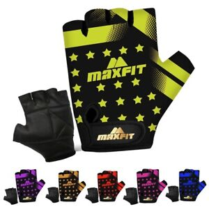 Kids Cycling Gloves Fingerless Padded Bicycle Cycle BMX Junior Boys Girls Gloves