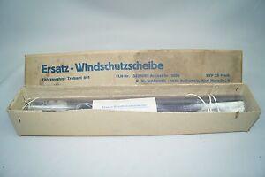 alte Ersatz Windschutzscheibe Trabant 601 Ersatzteil Trabi OVP Fundzustand