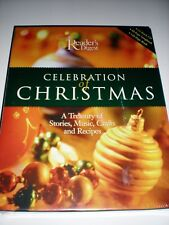 Reader's Digest CELEBRATION OF CHRISTMASS  CD Songbook Stories Recipes Music NEW