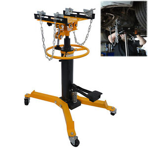 Professional Hydraulic Transmission Jack 1100 lbs/ 0.5 Ton 2 Stage for Car Lift