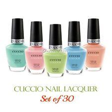 CUCCIO Colour Nail Lacquer >> SET OF 30 Colors Polish 13 mL Kit Wholesale Lot