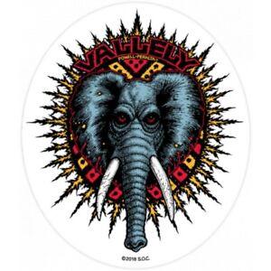 "Powell Peralta Mike Vallely Elephant Skateboard Sticker Decal 5"" Bones Brigade"