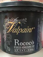 Stucco veneziano 500 alla calce BIANCO VALPAINT 1Lt decorativo
