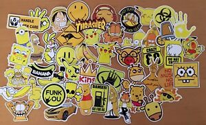 50 Mixed Cartoon Kids Funny Stickers For Skateboard Laptop Phone Stickerbomb