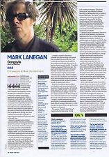 MARK LANEGAN - GARGOYLE REVIEW	orIginal press clipping			20x28cm