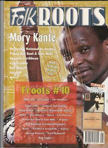 FOLK ROOTS Magazine January 1998 - Mory Kante (Double Issue 175/176)