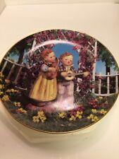 "Mj Hummel ""Little Musicians"" Plate Danbury Mint from Little Companions"