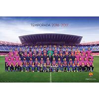 Poster 61,5x91 cm Barcelona Club Crest 2013