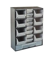 17 Multi Drawers 9 Bin Rack Parts Organiser Storage Cabinet Tool Diy Box