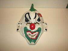 Rubie's Costumes Halloween Evil Punk Creepy Clown Adult Mask Mohawk Piercings